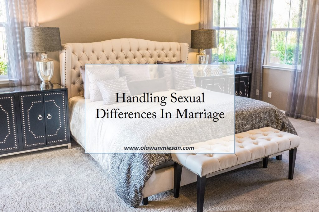 Handling Sexual Differences In Marriage