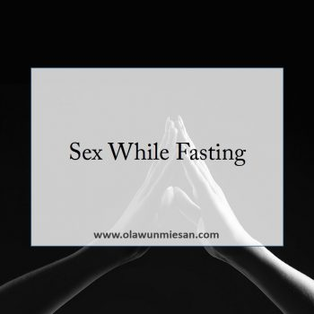 Sex While Fasting